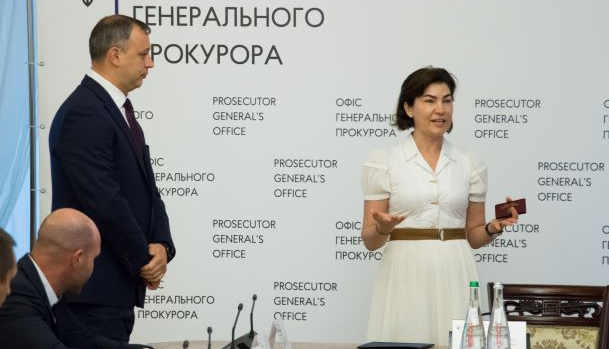 Венедіктова представила першого заступника: що про нього відомо