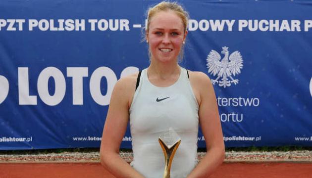 Шошина виграла другий одиночний титул польської тенісної серії