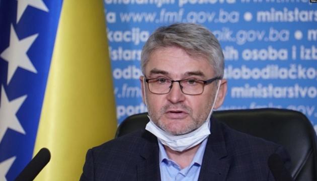 Боснійський міністр помер від COVID-19