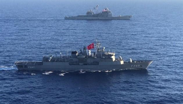 Кораблі Туреччини та США провели спільні навчання в Середземному морі