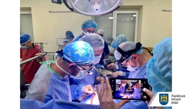 Лікарня швидкої допомоги Львова увійшла до пілотного проєкту з трансплантації