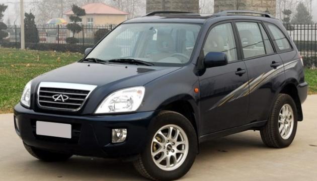 Ринок китайських нових легкових авто в Україні за пів року зріс на 20%