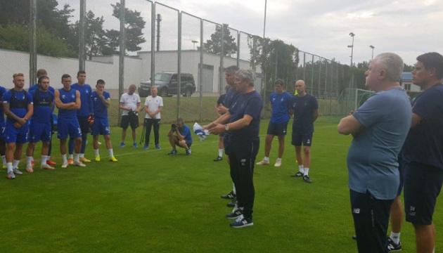 Луческу провів перше тренування в «Динамо»