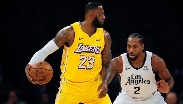 Рестарт НБА: «Лейкерс» виграв «Битву за Лос-Анджелес»