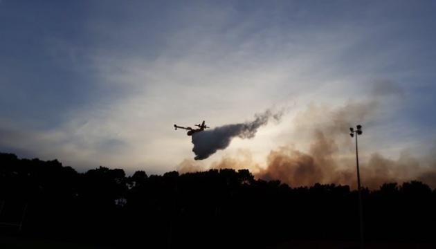 На півдні Франції згоріли 165 гектарів лісу