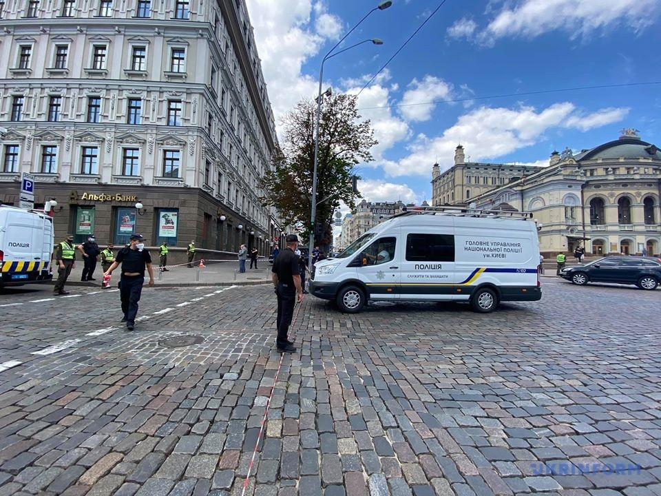 Невідомий погрожує вибухом у бізнес-центрі в Києві