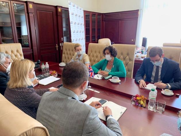 Україна готова бути основним партнером НАТО у Чорному морі - віцепрем'єрка