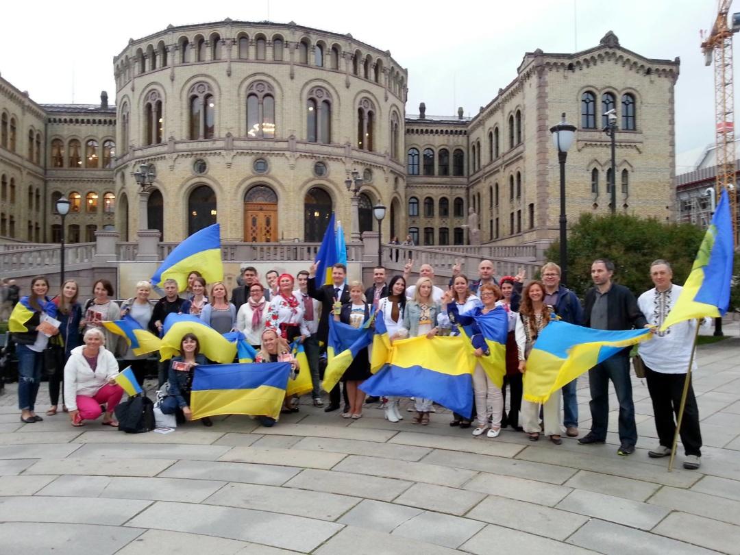 Українці в Норвегії відзначили День Незалежності
