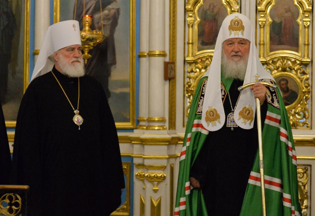 Екзарх Павло і Патріарх Кирил