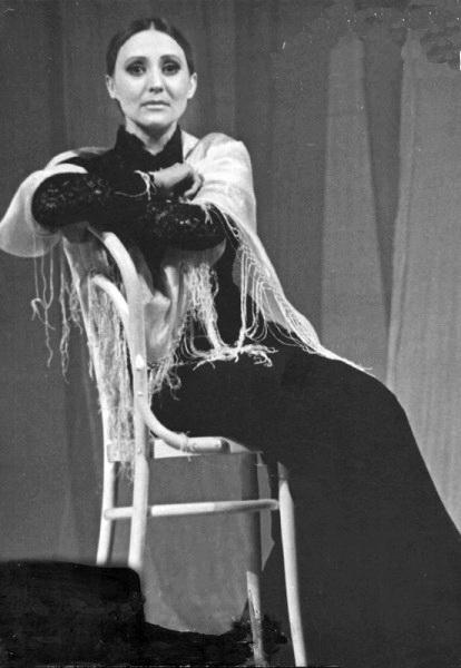 в спектакле Надеяться, 1979 г.