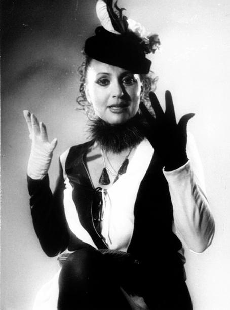 в спектакле Обэж, 1985 г.