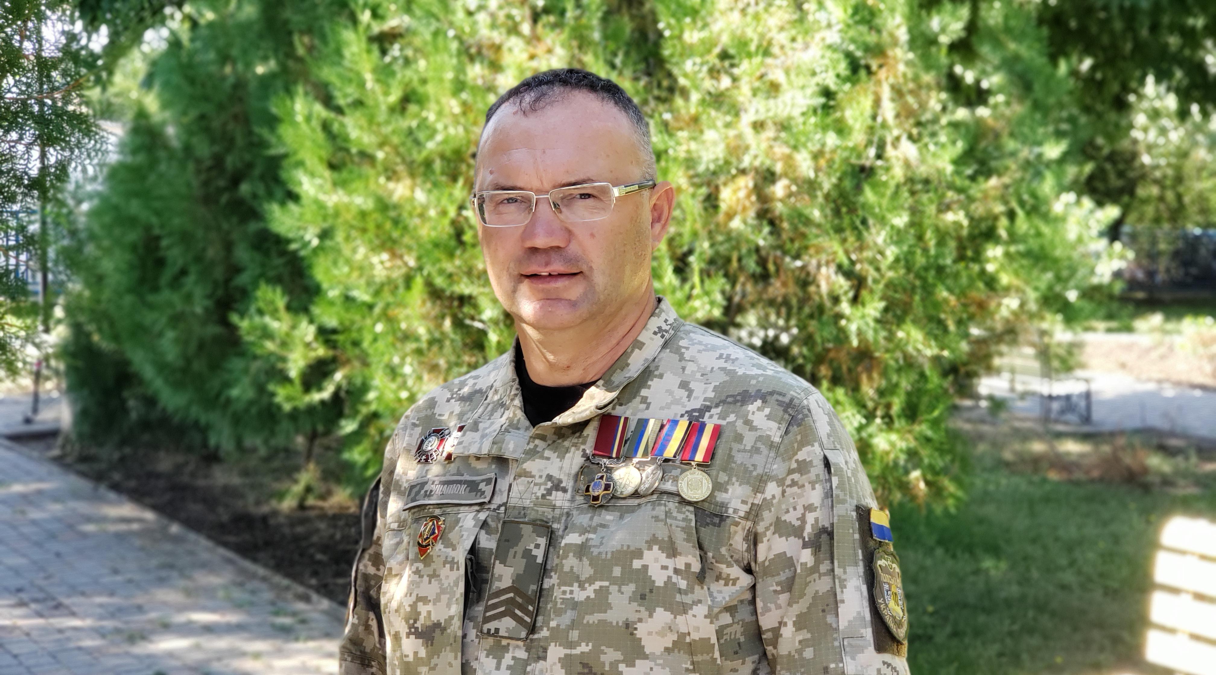 Керівник Південного відділу УІНП Сергій Гуцалюк
