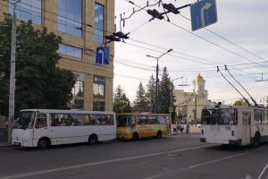 У Луцьку не вийшли у рейс 70 маршруток, транспорт переповнений - ЗМІ