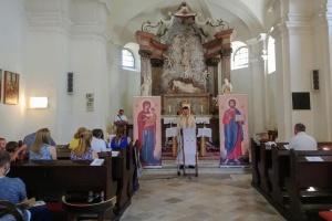 У Братиславі відбулася Служба Божа українською і виставка про Шептицького