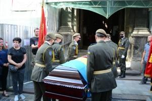 Во Львове простились с заместителем командующего УДА Андреем Гергертом