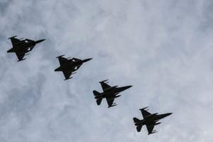 Авіапатруль НАТО сім разів за тиждень супроводжував військові літаки РФ над Балтикою