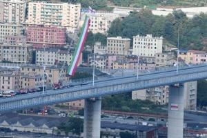 У Генуї відкрили новий міст на місці обвалу, де загинули 43 особи