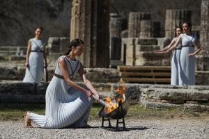 Олимпийский огонь вернется через год