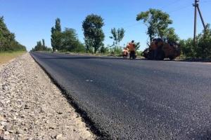 Стартовал ремонт дороги Днипро-Николаев