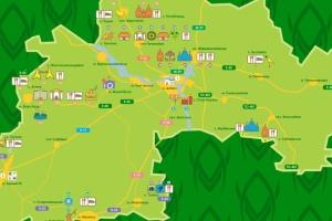 """На Дніпропетровщині створили інтерактивну карту туристичних """"магнітів"""""""