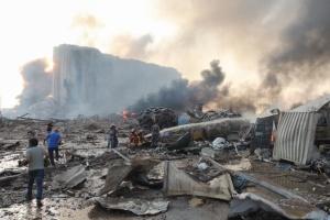 Два українських корабля могли постраждати в результаті вибуху в порту Бейрута
