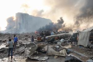В МИДе пока нет информации о пострадавших украинцах во время взрыва в Бейруте