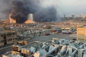 У Лівані після вибуху фіксують рекордне збільшення кількості випадків COVID-19