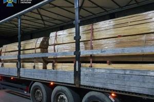 На Закарпатье СБУ блокировала контрабанду ценной древесины в Евросоюз