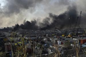 Вибухи у Бейруті пошкодили головний склад зерна Лівану