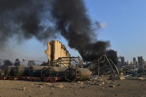 Число жертв взрыва в Бейруте возросло до 78