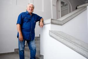 Андрей Чебыкин, художник-график, президент Национальной академии искусств