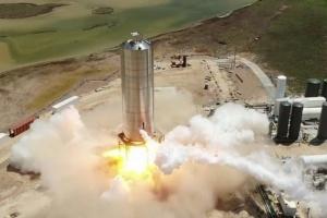 SpaceX испытала прототип ракеты для полетов на Марс