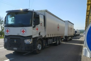 Червоний Хрест відправив ще 50 тонн гумдопомоги на окупований Донбас