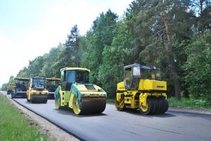 """На Чернігівщині почали ремонтувати ділянку """"київської"""" траси"""