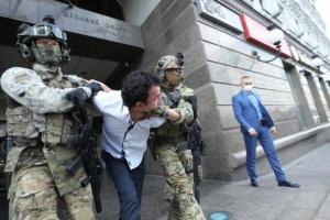 """Спецоперація у БЦ """"Леонардо"""": інтерв'ю у """"терориста"""" брала керівниця столичної поліції діалогу"""