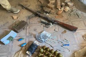 У районі ООС знешкодили схрон із вибухівкою, яку планували використати для здійснення терактів