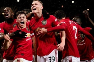 """""""Манчестер Юнайтед"""" вийшов до 1/4 фіналу Ліги Європи УЄФА"""
