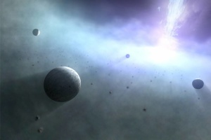 Біля чорних дір можуть народжуватися надвеликі планети