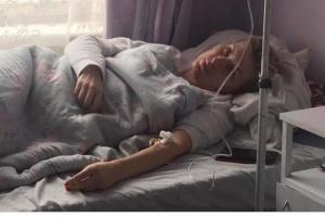 У Львові активістка облилася бензином та намагалася себе підпалити
