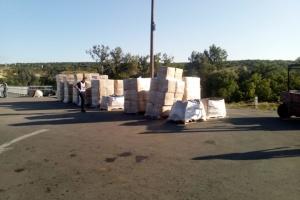 Червоний Хрест відправив на окупований Донбас понад 70 тонн гумдопомоги