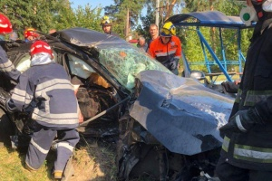 В Киеве две BMW столкнулись в лоб - три человека погибли на месте