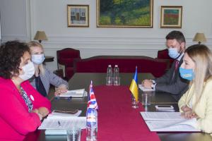 """Джапарова обговорила з послом Британії створення """"Кримської платформи"""""""