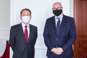 Украина и Япония готовят заседание Координационного совета по экономическому сотрудничеству