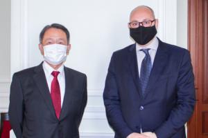 日本とウクライナ、経済協力調整会議会合を準備 日本大使と外務次官が会談