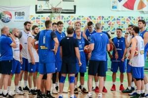 Чоловіча збірна України з баскетболу провела відкрите тренування