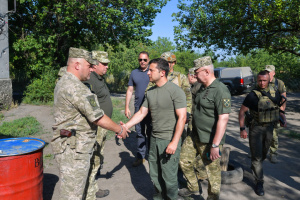 Zelensky: Ukraine's goal is peace, return of people and territories