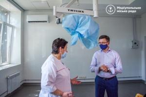 У лікарні Маріуполя створюють відділення екстреної допомоги