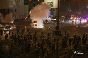 Поліція почала розгін протестуючих в Білорусі