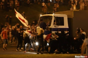 Neun Ukrainer bei Protesten in Belarus festgenommen