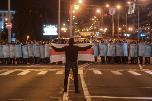 Жыве Беларусь: что пишут соцсети о ночи протестов